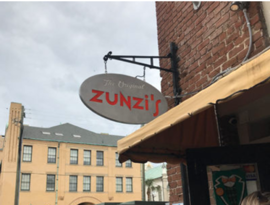 Zunzi's Sandwich Shop